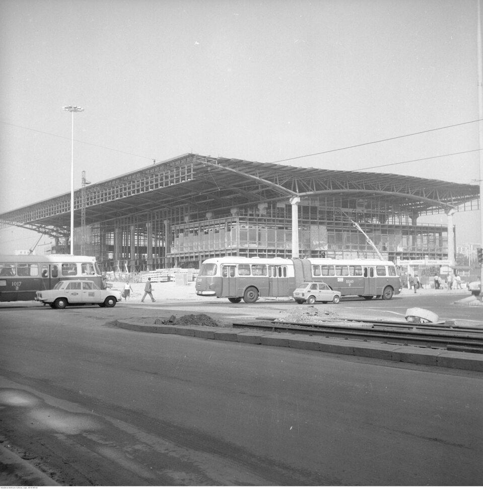Budowa Dworca Warszawa-Centralna