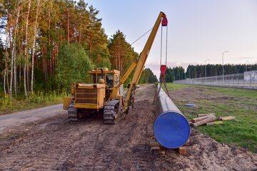 Budowa rurociągu