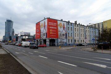 Budynek należący do spółki Srebrna