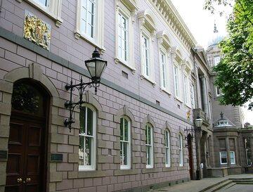 Budynek sądu w Jersey