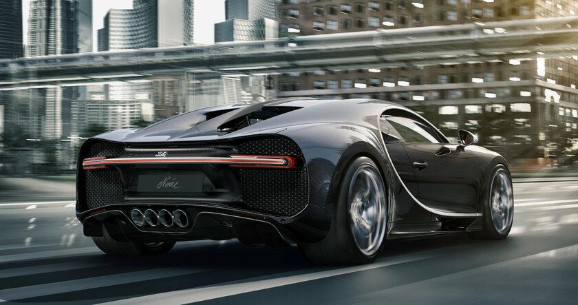 Bugatti Chiron Noire Élégance i Sportivo