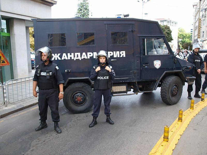 Bułgarska policja