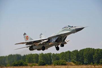 Bułgarski myśliwiec MiG-29 (zdjęcie ilustracyjne)