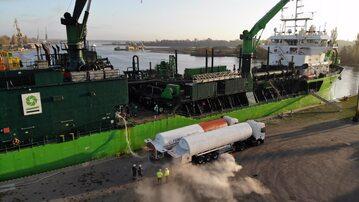 Bunkrowanie LNG w Szczecinie