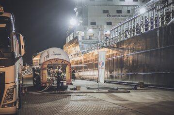 Bunkrowanie LNG, zdjęcie ilustracyjne