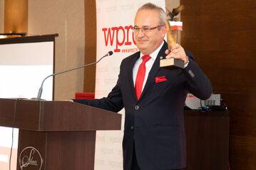 Burmistrz Augustowa Mirosław Karolczuk