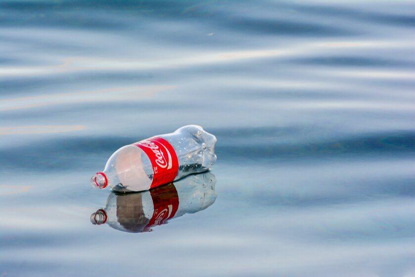 Butelka po Coca-Coli