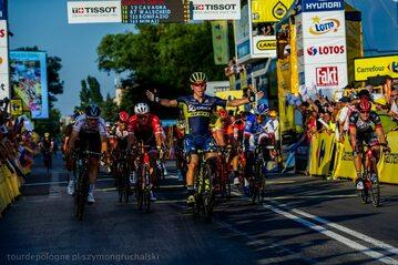 Caleb Ewan zwycięzcą najdłuższego etapu Tour de Pologne