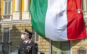 Carabinieri w Bergamo