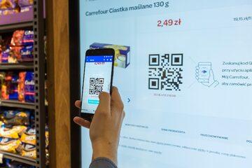 Carrefour współpracuje z Google