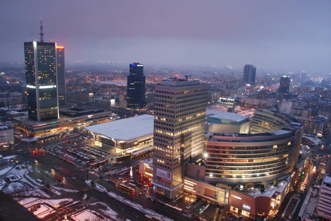 Centrum Warszawy, zdjęcie ilustracyjne