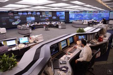 Centrum zarządzania produkcją Saudi Aramco