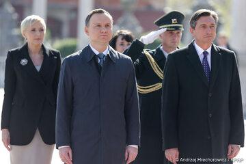 Ceremonia oficjalnego powitania Prezydenta RP