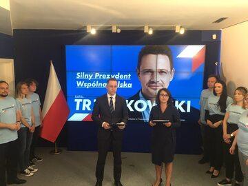 Cezary Tomczyk i Kamila Gasiuk-Pihowicz