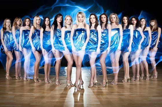 Cheerleaderki Asseco Prokom Gdynia