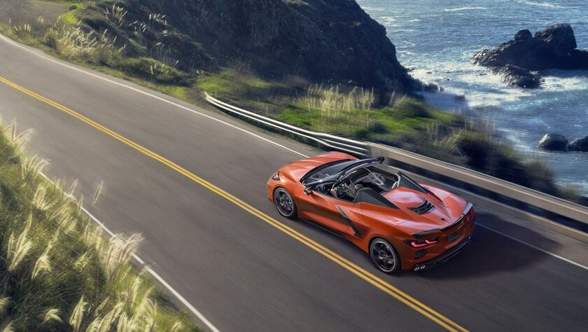 Chevrolet Corvette Convertible 2020