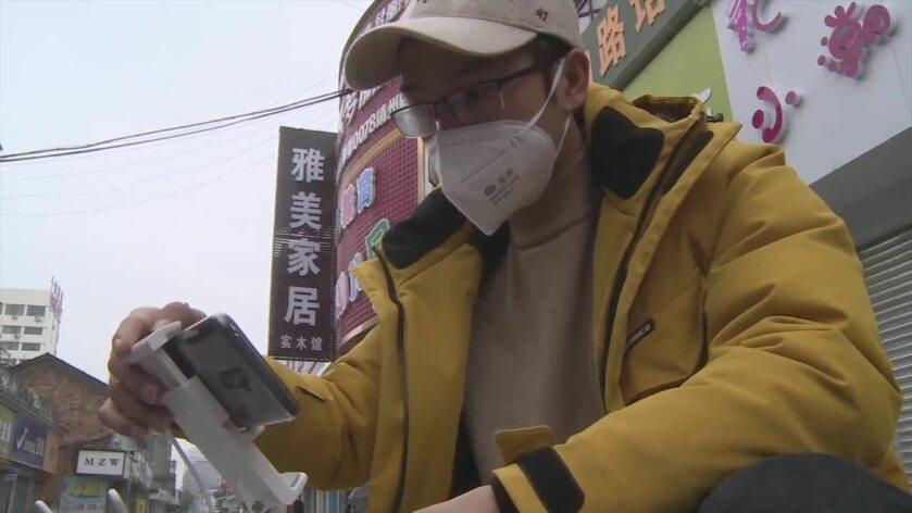 Chińczycy wykorzystują drony do walki z epidemią koronawirusa