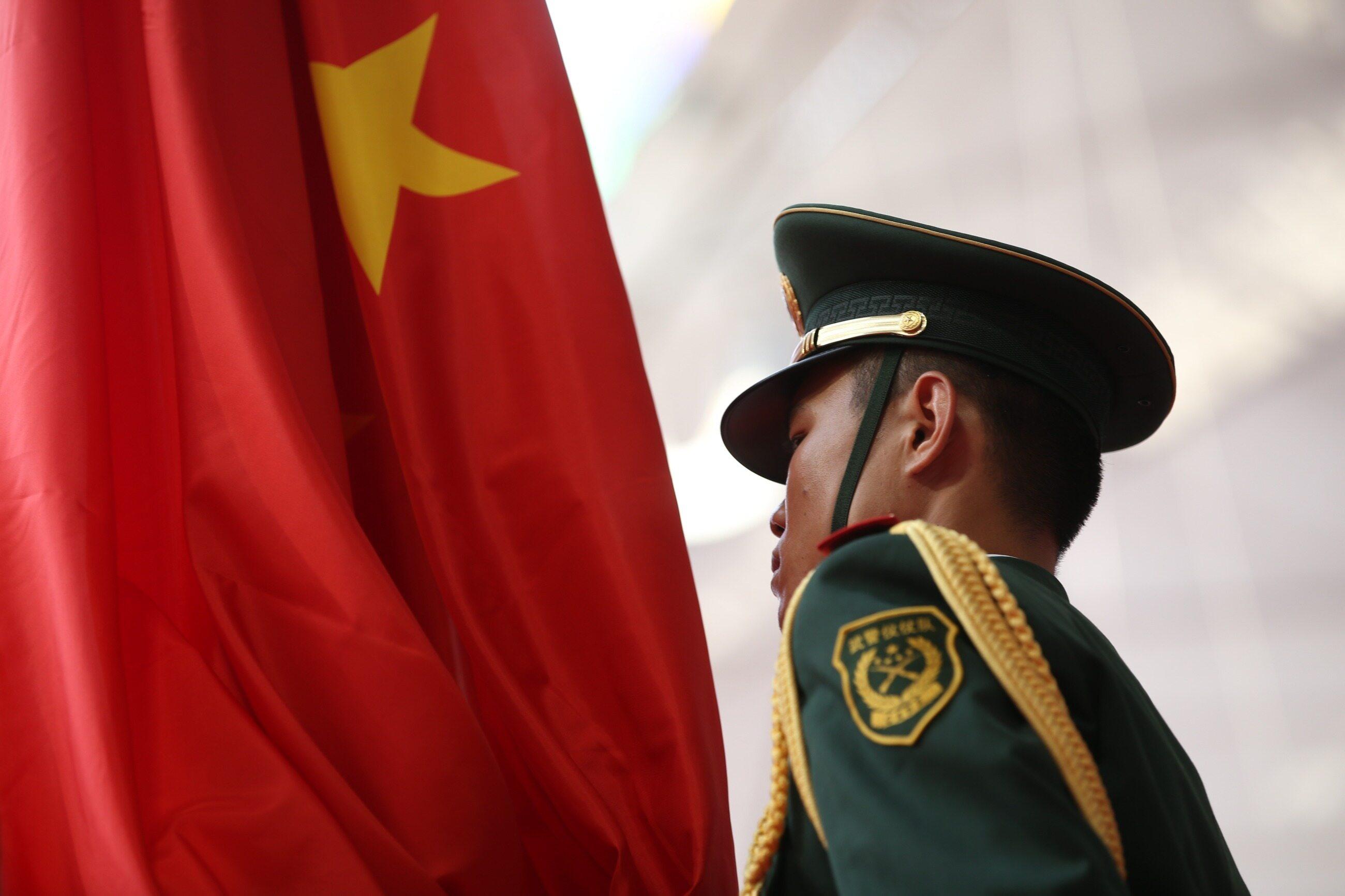 Chiński żołnierz