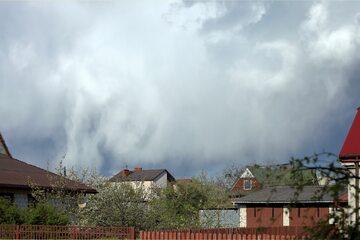 Chmury, chmury burzowe (zdj. ilustracyjne)
