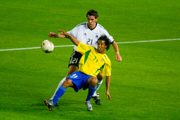 Christoph Metzelder i Ronaldinho