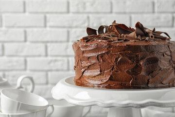 Ciasto Genoise z musem czekoladowym