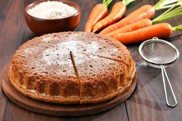 Ciasto marchewkowe, zdjęcie ilustracyjne
