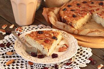 Ciasto na bazie mąki z migdałów