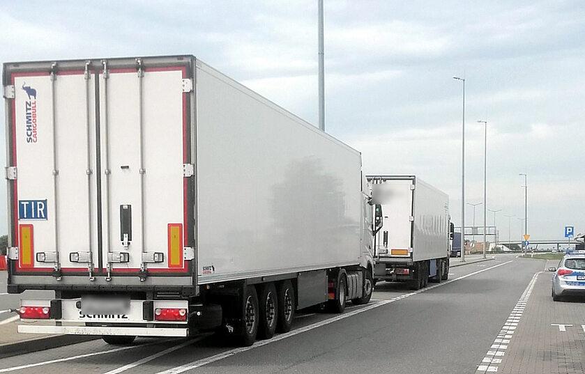 Ciężarówka pijanego kierowcy
