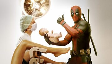 Comic-Con Deadpool