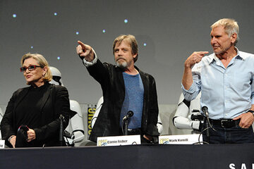 Comic-Con: Star Wars: Carrie Fisher, Mark Hamill, Harrison Ford