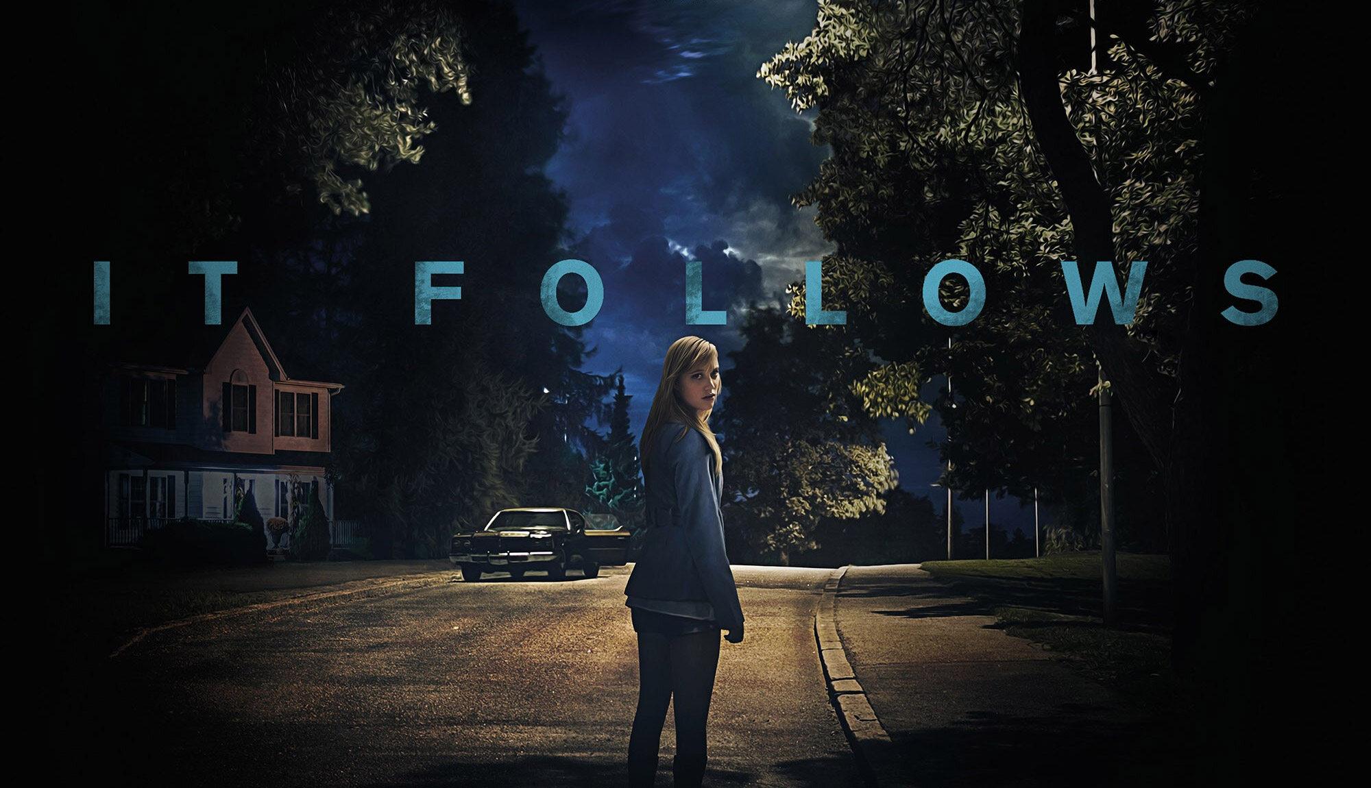 """Coś za mna chodzi (2014) """"It Follows"""""""