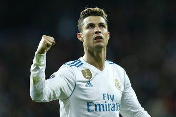 Cristiano Ronaldo w barwach Realu Madryt