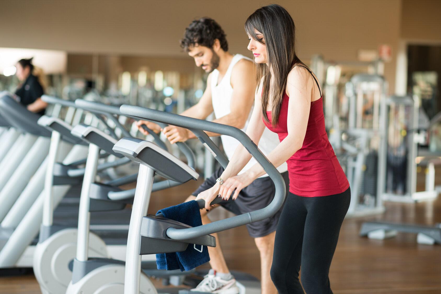 Ćwiczenie na bieżni