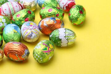 Czekoladowe jajka, zdjęcie ilustracyjne