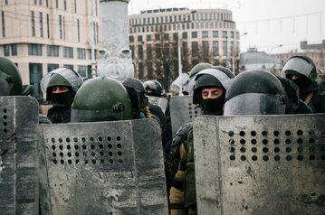Członkowie białoruskich oddziałów specjalnych, zdjęcie ilustracyjne