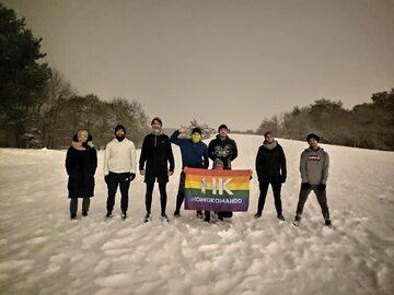 Członkowie Homokomando z Gdańska