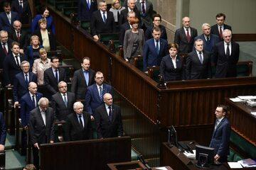 Członkowie rządu PiS