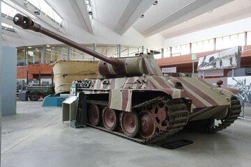 Czołg typu Panther (zdj. ilustracyjne)