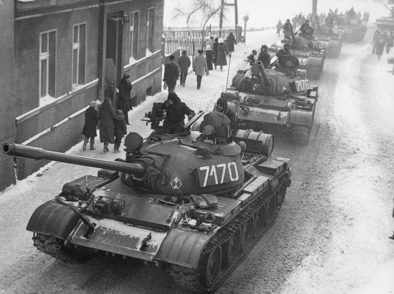 Czołgi na ulicach, stan wojenny 1981
