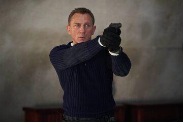"""Daniel Craig na planie """"Jamesa Bonda"""""""
