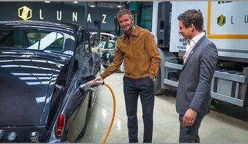 David Beckham i Lunaz