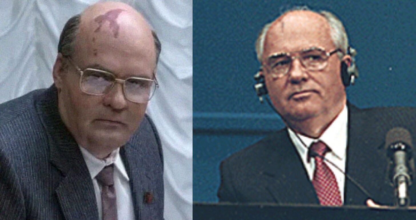 David Dencik jako Michaił Gorbaczow, były przywódca ZSRR