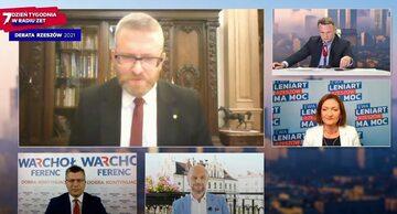 Debata kandydatów na prezydenta Rzeszowa w Radio ZET