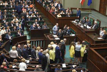 Debata o projekcie ustawy dotyczącym Sądu Najwyższego w Sejmie