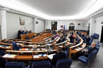 Debata Senatu nad ustawą o Sądzie Najwyższym