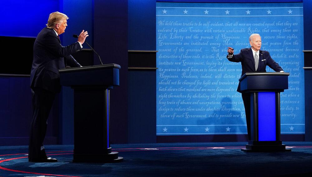 Debata Trump - Biden