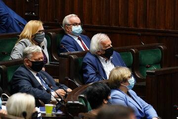 Debata w Sejmie nad odwołaniem Ryszarda Terleckiego