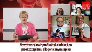 """Debata """"Wprost"""" o zdrowiu: Profilaktyka infekcji po przeszczepieniu szpiku"""