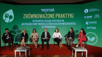 Debata Zrównoważone praktyki w przemyśle rolno-spożywczym – jak polskie firmy wdrażają strategię odpowiedzialności za środowisko