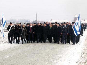 Delegacja Knesetu w Auschwitz - 27 stycznia 2018 r.